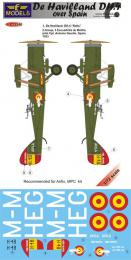 1/72 Decals De Havilland DH.4 over Spain for AIR