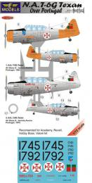 1/72 Decals T-6G Texan in Portugal