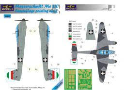 LF MODEL 1/48 Mask Messerschmitt Me 210 Camouflage painting