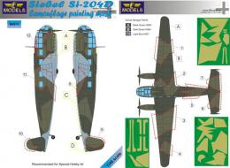 LF MODEL 1/48 Mask Siebel Si-204D Camouflage painting
