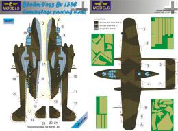 1/48 Mask BV-138C Camouflage painting for MPM