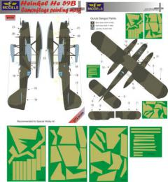 LF MODEL 1/72 Mask Heinkel He 59B Camouflage painting