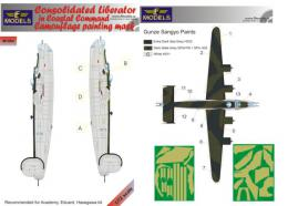 LF MODEL 1/72 Mask Liberator in Coastal Command Camouflage painting