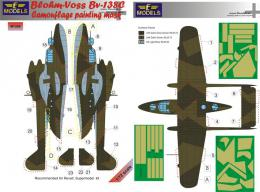 1/72 Mask BV-138C Camouflage painting for REV