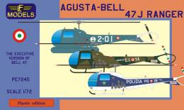 LF MODEL 1/72 Agusta-Bell 47J Ranger for 3x Italian camo