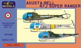 LF MODEL 1/72 Agusta-Bell 47J Super Ranger for 3x Ital. camo