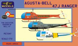 LF MODEL 1/72 Agusta-Bell 47J Ranger for France, UK, Spain