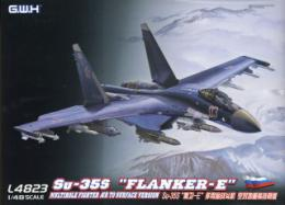 GREAT WALL HOBBY 1/48 Su-35S Flanker-E Multirole Fighter Air to Surface Version