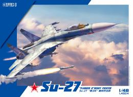 GREAT WALL HOBBY 1/48 Su-27  Flanker Russian Multirole Fighter