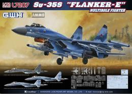 GREAT WALL HOBBY 1/72 Su-35S Flanker-E Multirole Fighter