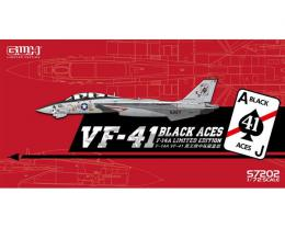 GREAT WALL HOBBY 1/72 F-14A Tomcat US Navy VF-41 Black Aces