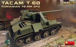 MINIART 1/35 Romanian 76-mm SPG Tacam T-60 w/int