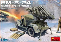 MINIART 1/35 BM-8-24 Based on 1,5t truck