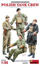 MINIART 1/35 Polish Tank Crew (4 fig.)