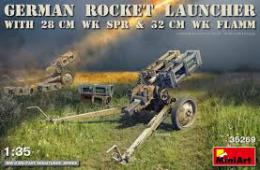 MINIART 1/35 Rocket Launcher with 28 cm WK