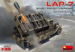 MINIART 1/35 Soviet Rocket Launcher LAP-7