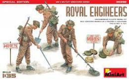 MINIART 1/35 Royal Engineers, Special Edition (4 fig.)