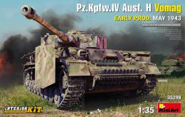 1/35 Pz.Kpfw.IV Ausf. H Vomag, May 1943 Full Interior Kit