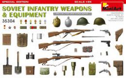 MINIART 1/35 Soviet Infantry Weapons & Equipment.
