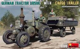 MINIART 1/35 German Tractor D8506 with Cargo Trailer