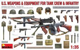 MINIART 1/35 US Weapons & Equipment for Tank Crew&Infantry