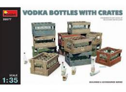 MINIART 1/35 Vodka Bottles with crates