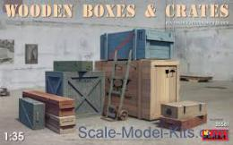 MINIART 1/35 Wooden boxes & crates