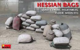 MINIART 1/35 Hessian Bags - sand, cement etc. (30 pcs.)