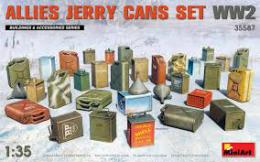 MINIART 1/35 Allies Jerry Cans WWII