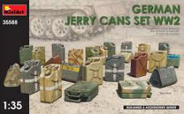 MINIART 1/35 German Jerry Cans set WWII