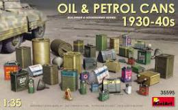 MINIART 1/35 Oil & Petrol Cans 1930-40s