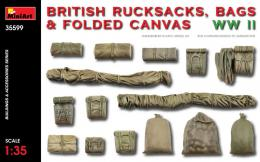 MINIART 1/35  British Rucksacks.Bags&folded canvas