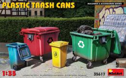 MINIART 1/35 Plastic Trash Cans