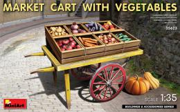 MINIART 1/35 Market Cart with Vegetables