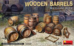 1/35 Wooden Barrels - Medium Size