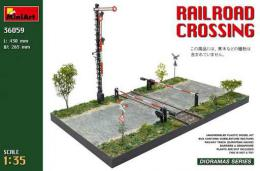 MINIART 1/35 Railroad Crossing diorama