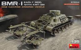MINIART 1/35  BMR-1 early mod. w/KMT-5M