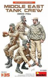 MINIART 1/35  Middle East tank crew 1960-70s