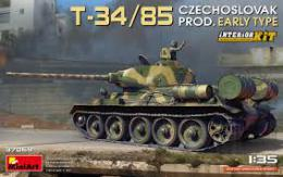 MINIART 1/35 T-34/85 Czechoslovak early type