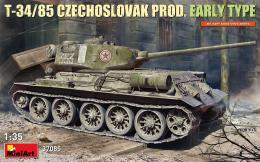 MINIART 1/35 T-34/85 Czechoslovak Production Early