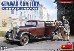 MINIART 1/35 German car 170V Cabrio saloon
