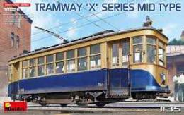 MINIART 1/35 Tramway X-Series mid type, 8x options
