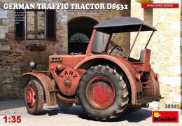 1/35 German Traffic Tractor D8532 (incl.PE&decal)