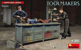 MINIART 1/35 Toolmakers workbench, 2 fig. & tools