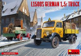 MINIART 1/35 L1500S German 1,5t Truck