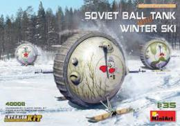 MINIART 1/35 Soviet BallTank w/winter ski w/int.