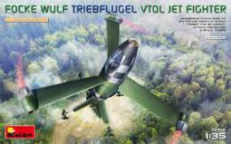 MINIART 1/35 Focke Wulf Triebflugel VTOL Jet Fighter