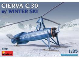 MINIART 1/35 Cierva C-30 w/Winter Ski