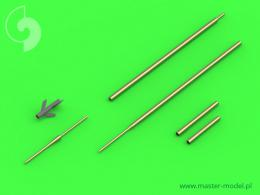 MASTER AIR 1/48 Su-7 (Fitter-A) Pitot Tubes & 30mm gun barrel