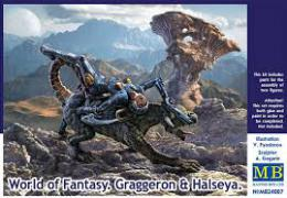 MASTERBOX 1/24 World Of Fantasy 1 - Graggeron & Halseya